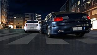 C4D模型-赛车竞技游戏完整C4D动画场景源工程含动画材质贴图