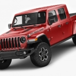 吉普JEEP牧马人越野汽车C4D模型创意场景3D模型素材