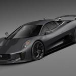 MAX 3DS FBX OBJ捷豹超跑汽车跑车轿车赛车带材质贴图三维C4D模型素材Jaguar C-X75 2014 3D Model