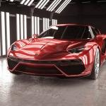 C4D 3D兰博基尼汽车赛车跑车轿车带材质贴图设计参考OC渲染三维模型