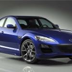 C4D模型-蓝色马自达汽车C4D车辆模型3D模型